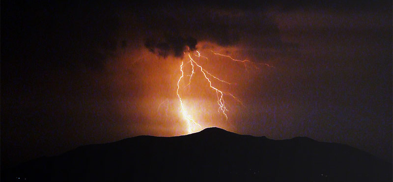 Thunderstorms new mexico