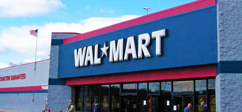 Walmart enter USA